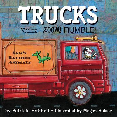 Trucks By Hubbell, Patricia/ Halsey, Megan (ILT)